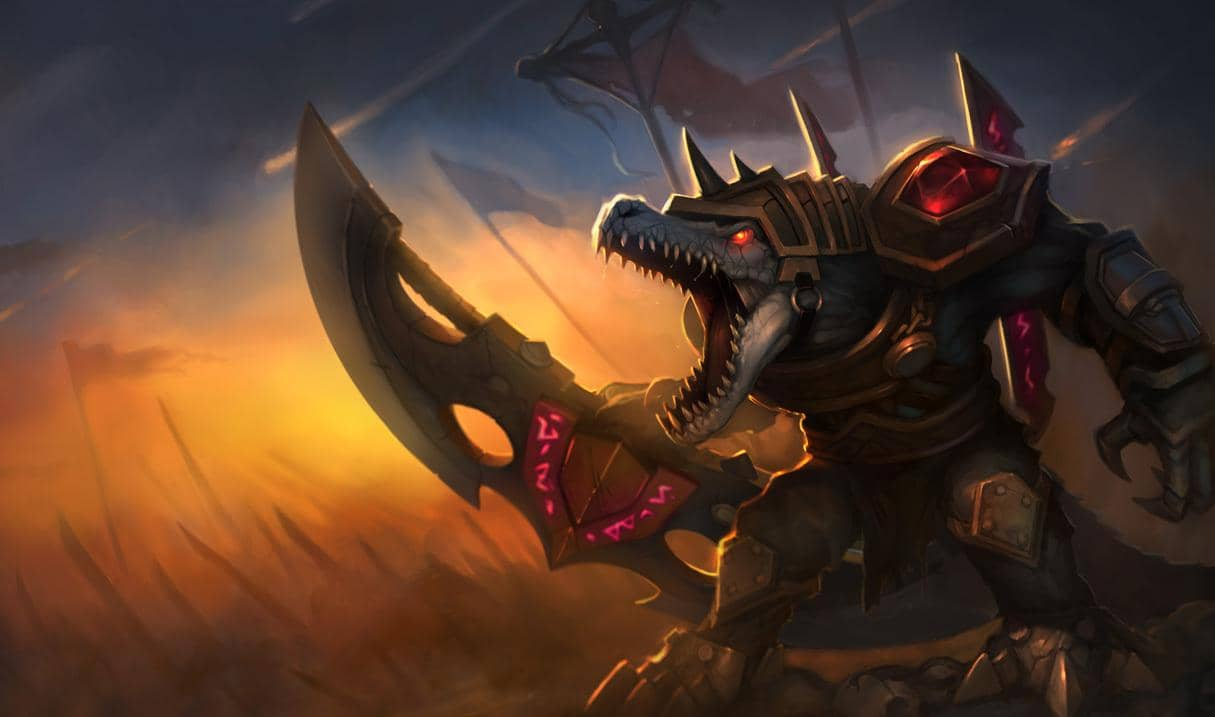 英雄联盟手游鳄鱼选择出装路线攻略
